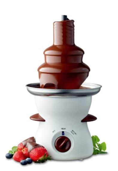 Fuente de chocolate (3 escalones)