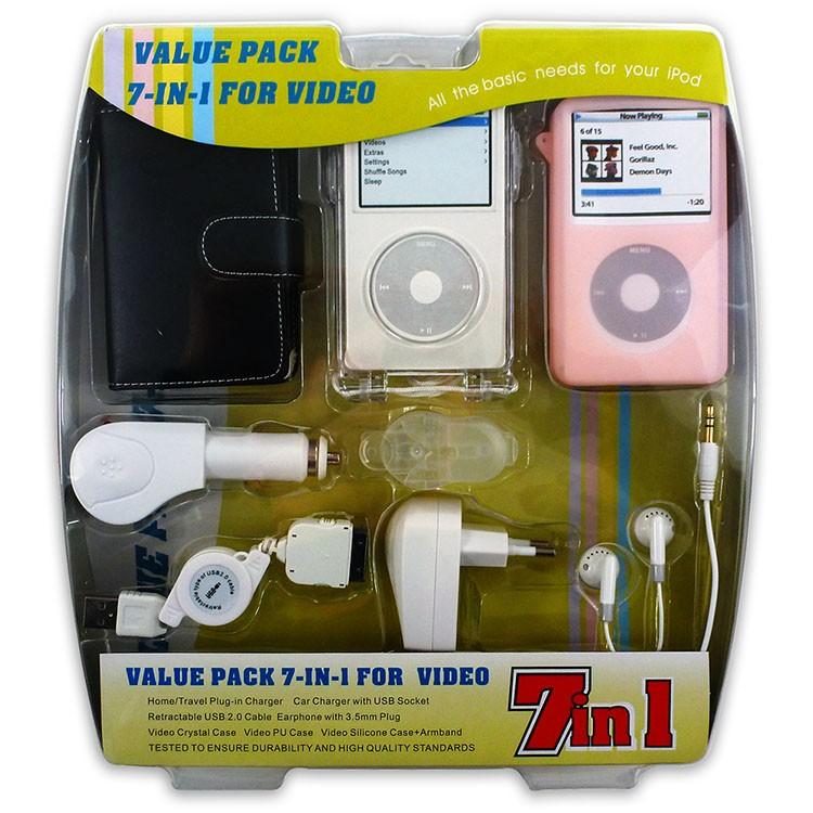 Kit de conexiones para cargar el MP3 y auriculares