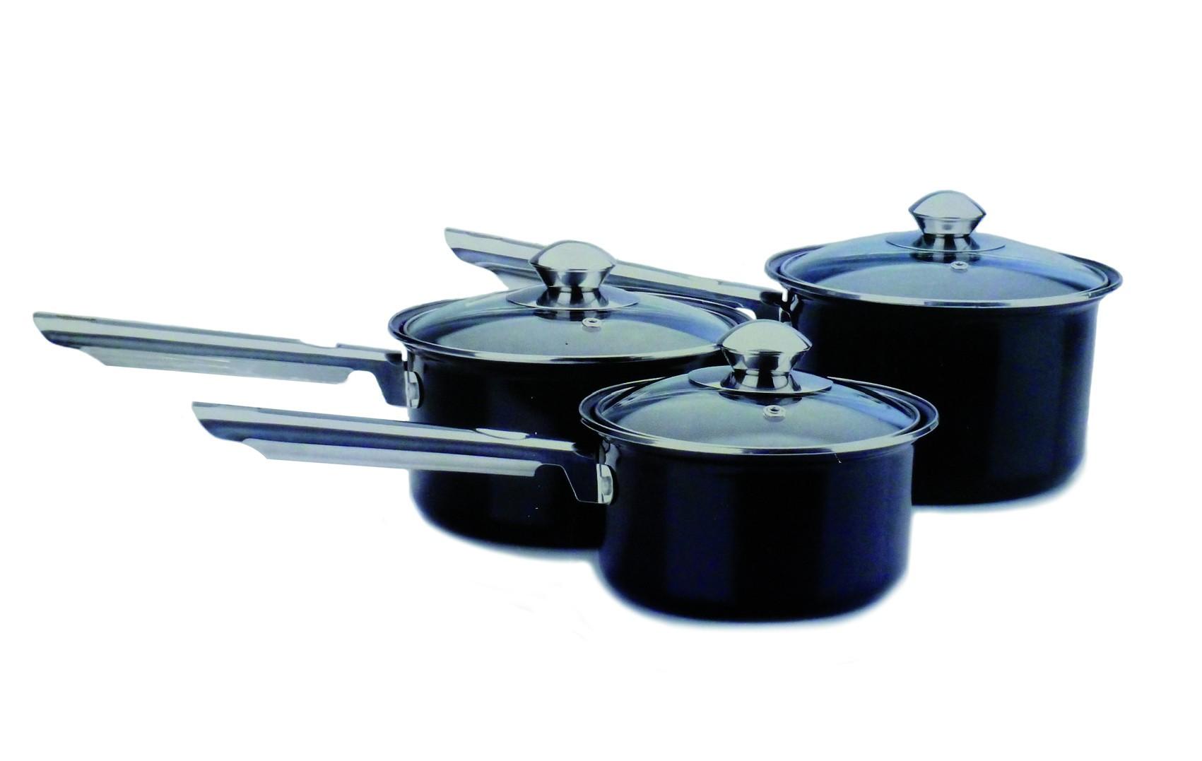 Batería de cocina 3 piezas