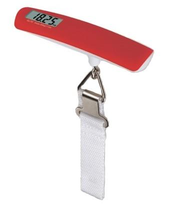 Báscula digital para viaje (roja)