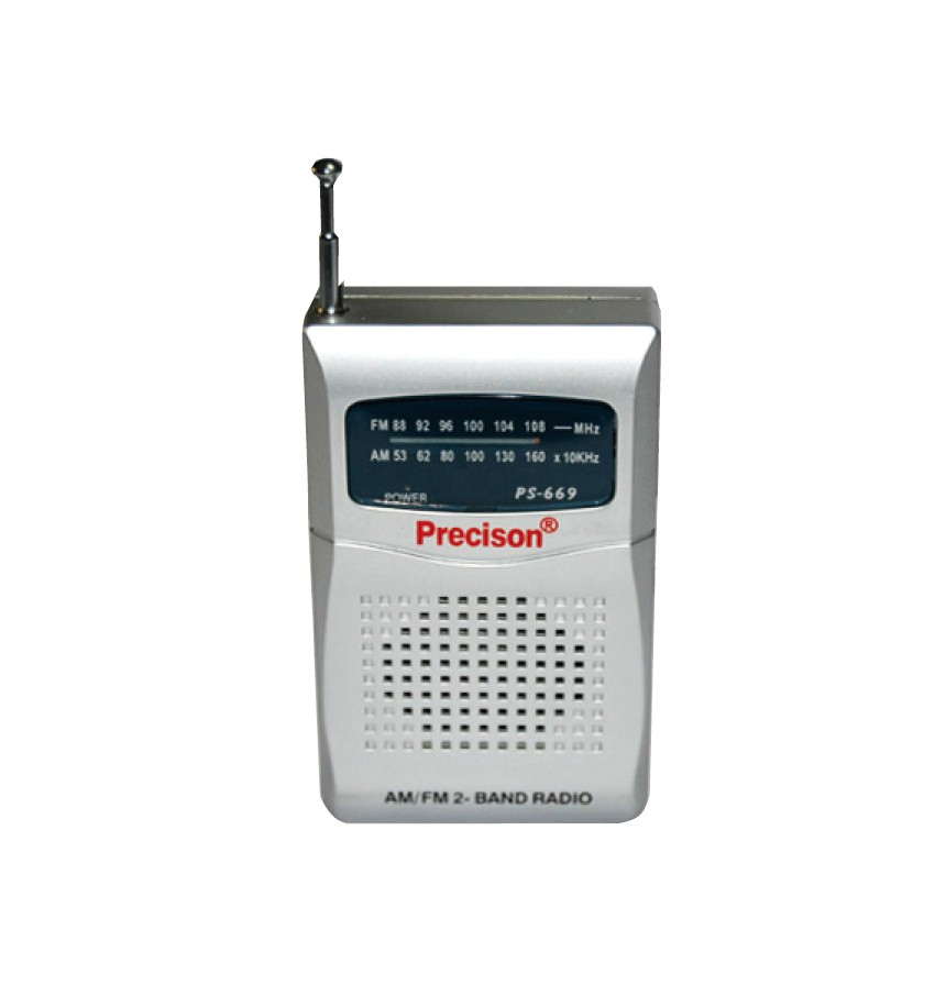 Radio precisión AM/FM 2 bandas