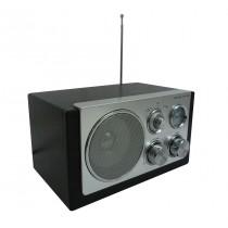 Radio AM/FM de madera