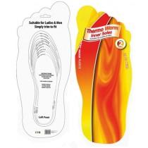 Plantillas de calzado termales