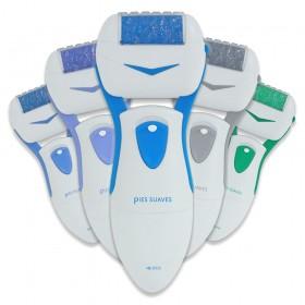 Lima electrónica a pilas para tratar los talones agrietados