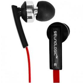 Auriculares con micrófono y regulador de volumen