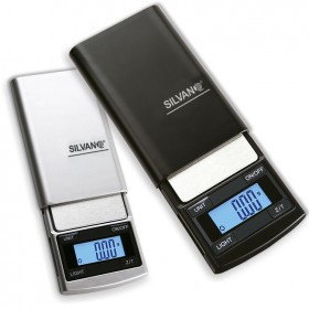 Báscula mini digital de joyería de precisión 100 g