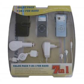 Cargador 7 en 1 para iPod Nano®