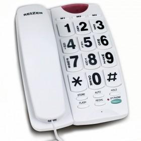 Teléfono fijo de teclas extra grandes con altavoz SL-127