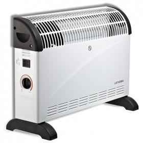 Calefactor de convección con regulador de consumo hasta 2000 W