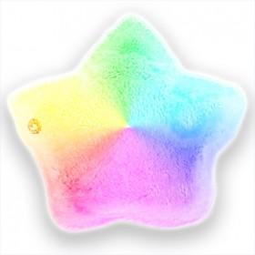 Cojín suave infantil luminoso LED en forma de estrella