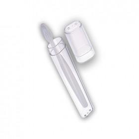 Funda rígida transparente para el cepillo de dientes