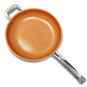 Sarten cerámica de cobre 28 cm
