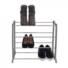 Zapatero estantería de varillas || 58 x 24,5 x 50,5 cm || 4 alturas || modelo BSR-47